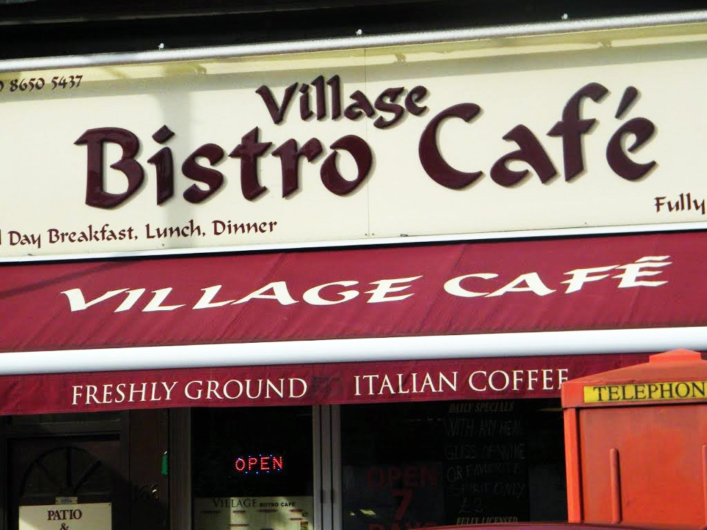 Shop Sign In Beckenham Bistro Cafe South Signs